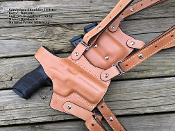 Sandpiper SH Shoulder Holster : Horizontal Holster