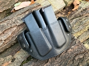 In Stock: 1911 Double Snap Style Magazine Pouch / Black