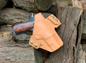 In Stock: 1911 4.25 Griffon V OWB Holster/Natural w/Thumb Break